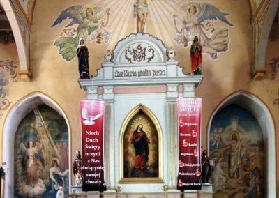 29c - kościół św. Wojciecha - ołtarz
